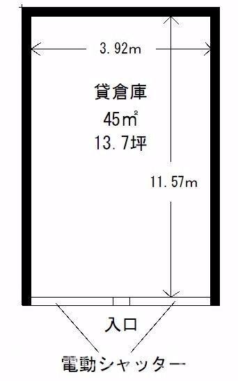 シンプルな長方形の形