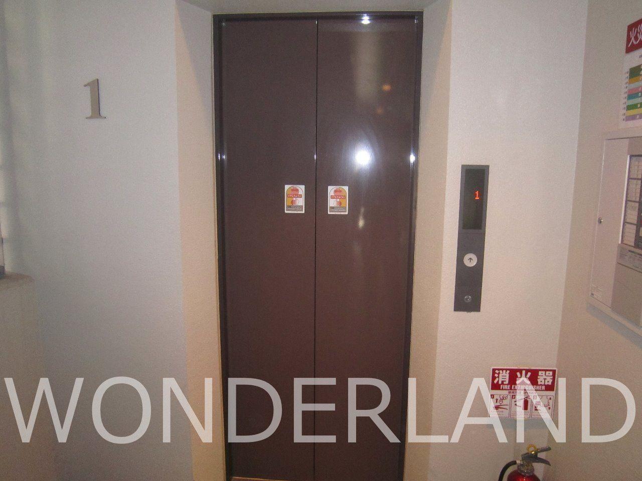 マンション エレベーター