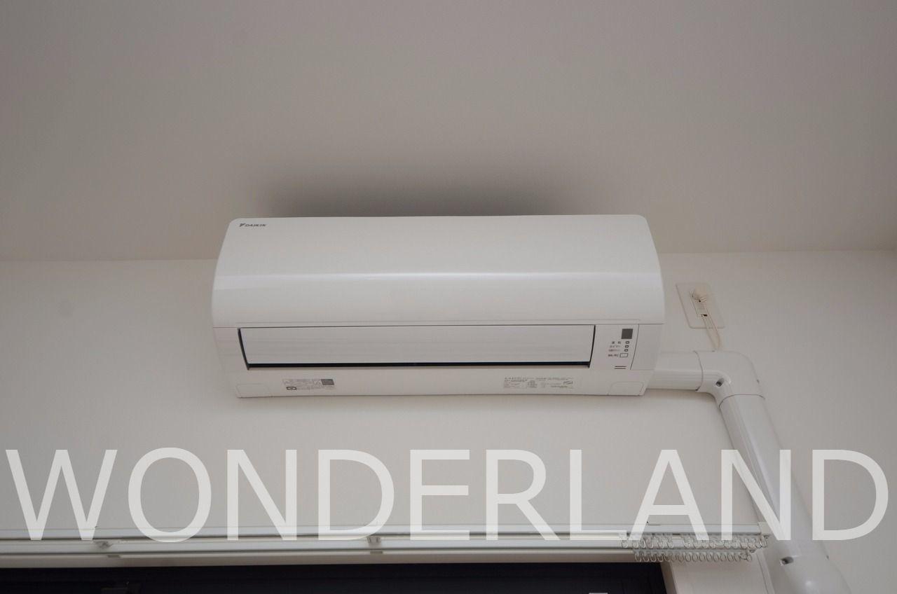 エアコンは各部屋の合計3基あり良心的です