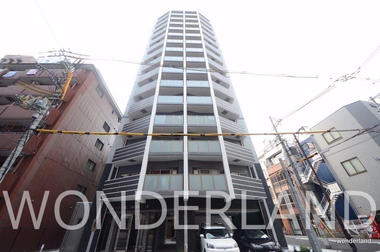 15階建ての大きな賃貸マンション