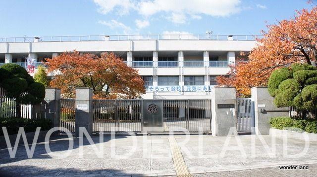 浪速東に位置する大阪市の公立の小学校