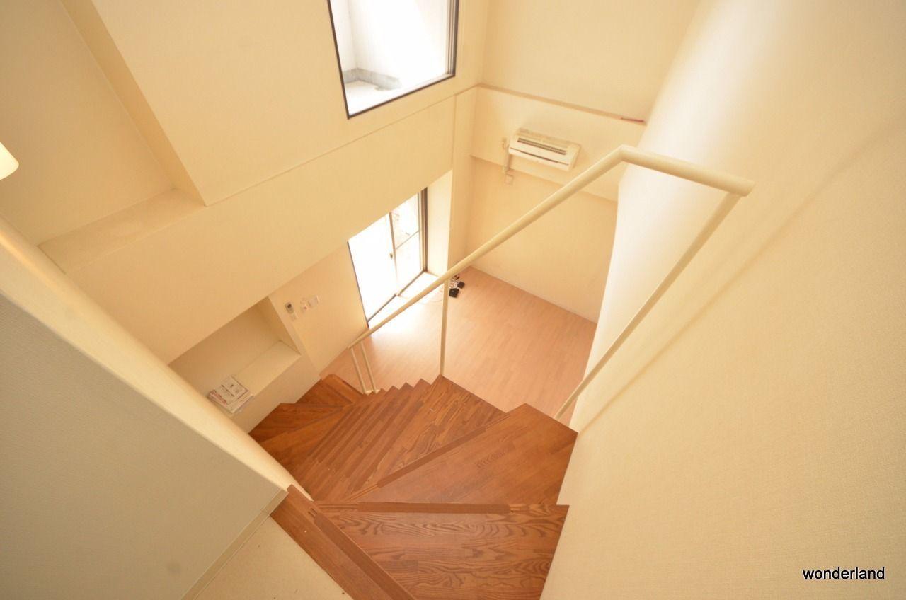 階段上からの写真です