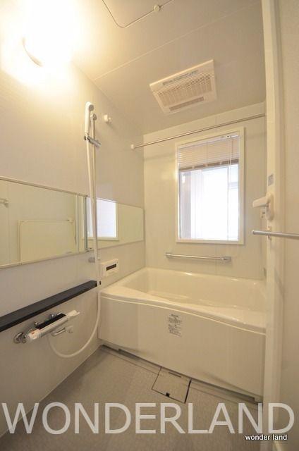 浴室乾燥機、追い焚き、小窓あり