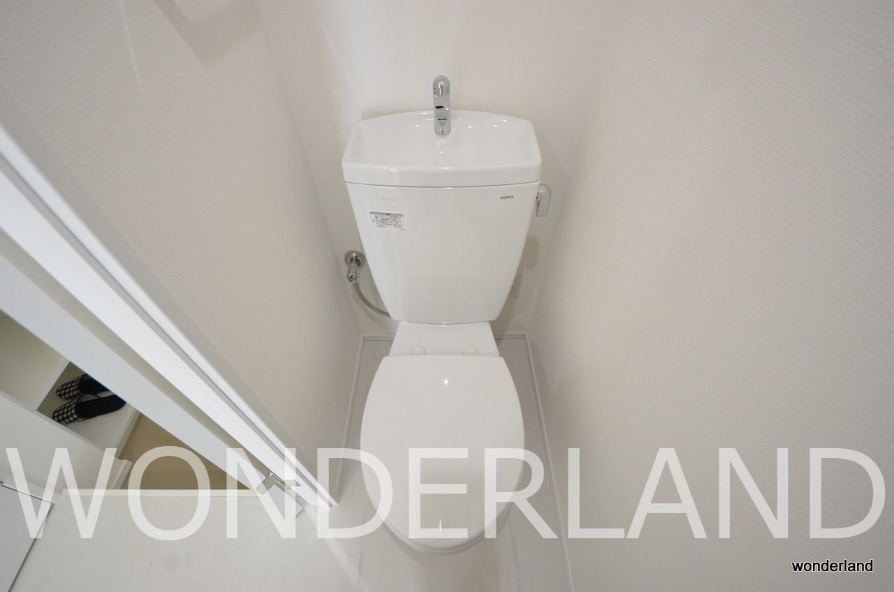 ウォシュレットなしのトイレ