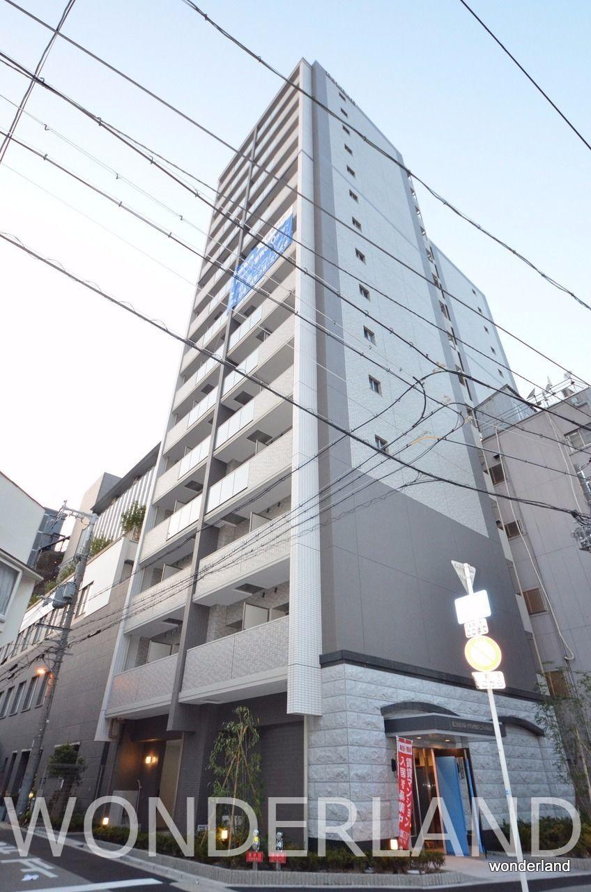 15階建ての大きなマンション