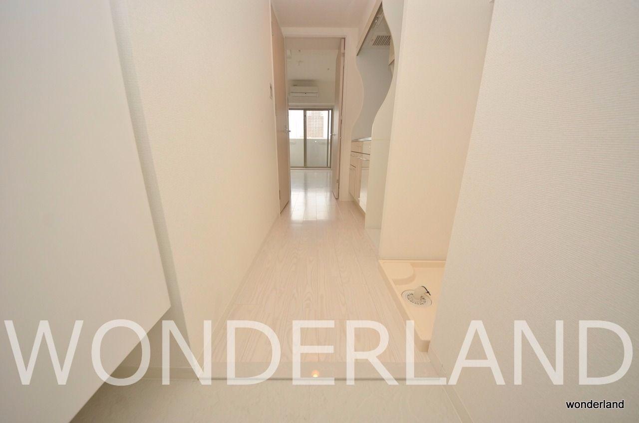 白いお部屋の造りが印象的