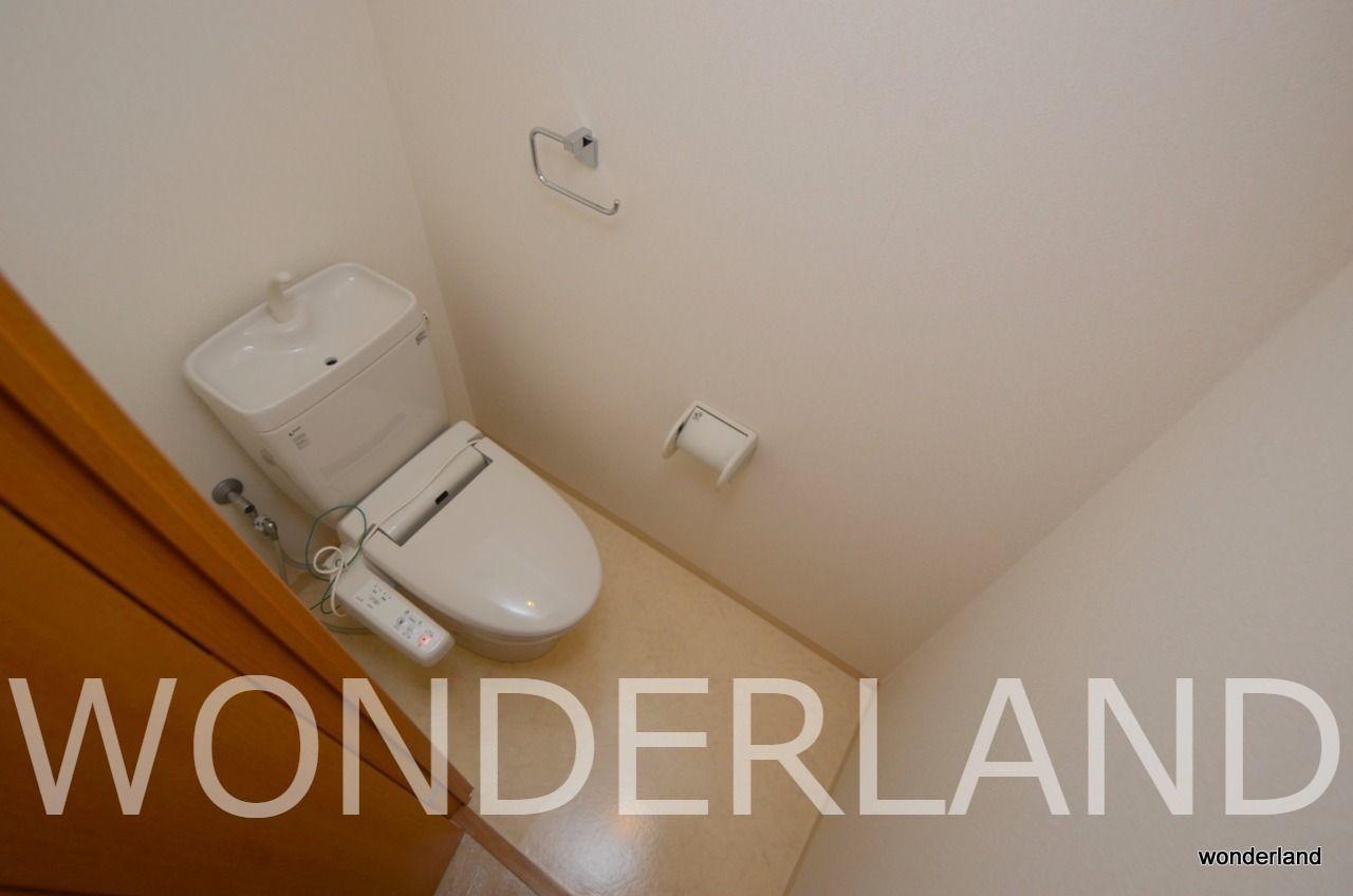 トイレ付いています