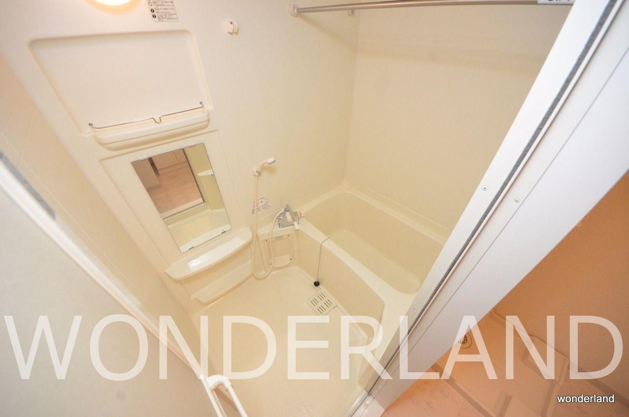 雨の日でも安心の浴室乾燥機付き