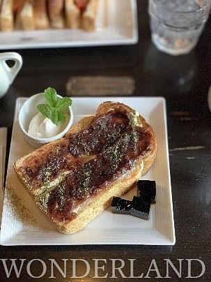 小倉トースト♡コーヒーゼリー付き